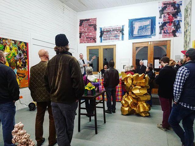 #art talks in @shenmoca. #strasburgva #culture #bigthingsinsmalltowns
