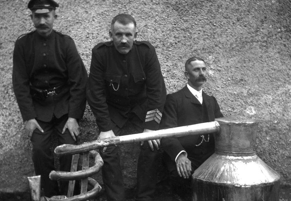 Captured Poitín still, Glens of Antrim, c.1890.Courtesy of Noel Quinn.jpg