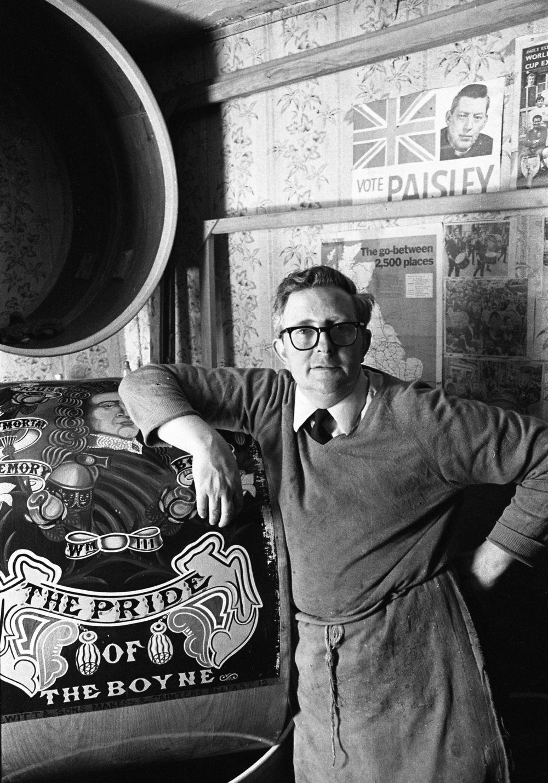 SR1974 - 49 William Hewitt, Lambeg drum maker, Charles Street South. .jpg