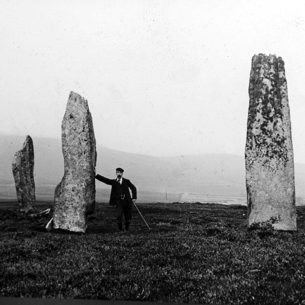 JSHP-Standing stones, Tormore, Arran Island..JPG