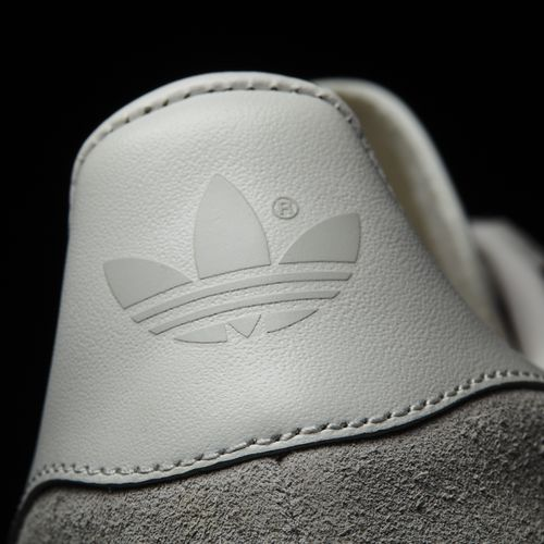 quality design 1e018 bdde0 ... Adidas Gazelle - Clear Onix, White  Gold Metallic - Detail View