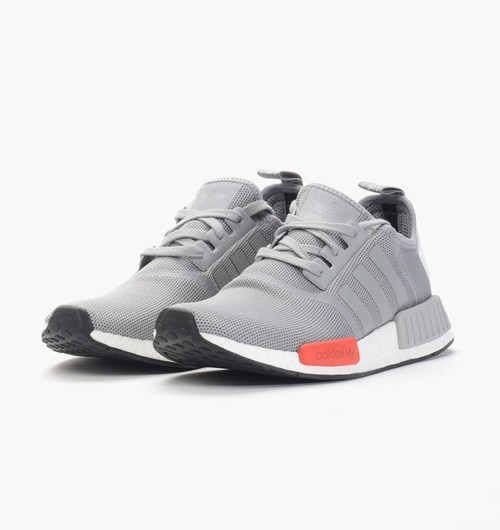 buy popular e30c0 66611 Adidas NMD Runner - Light Onix - Front Side Angle View ...
