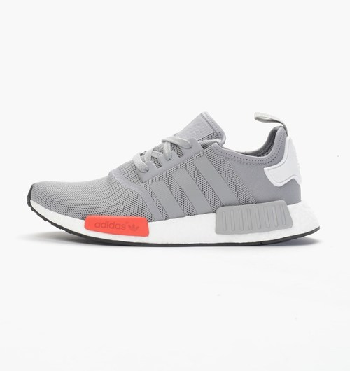 outlet store f7fc5 6bb48 ... Angle View Adidas NMD Runner - Light Onix - Side View ...