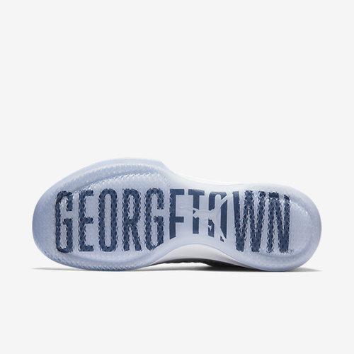 new style 392f8 cc3e6 ... Air Jordan XXXI Low (Georgetown) - Wolf Grey White College Navy ...