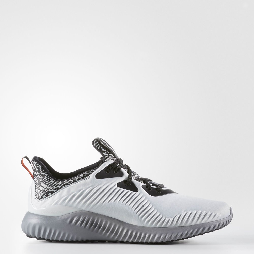 the best attitude e7cba bd984 Adidas Alphabounce - Clear Grey  Matte Silver  Clear Grey - Outer Side  View