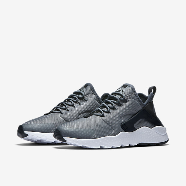 online store 8bc9c 5f24f Nike Air Huarache Ultra - Cool Grey   Black   White   Anthracite - Side View