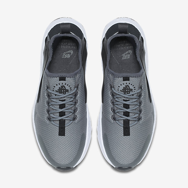 c15beeafe08 Nike Air Huarache Ultra - Cool Grey   Black   White   Anthracite - View From
