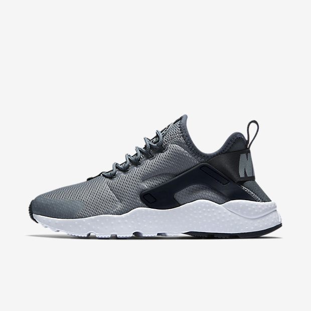 7a30049385e Nike Air Huarache Ultra - Cool Grey   Black   White   Anthracite - Outer  Side