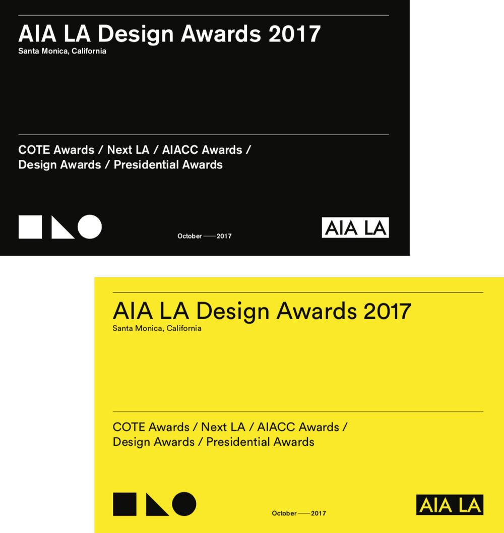 AIA LA Design Awards 2017 - Concept 1