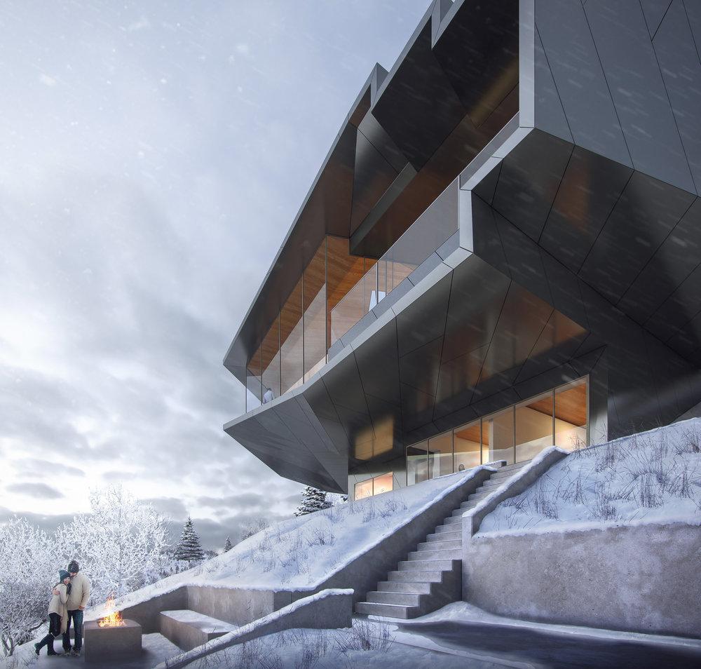 Powder Mountain - Tom Wiscombe Architecture