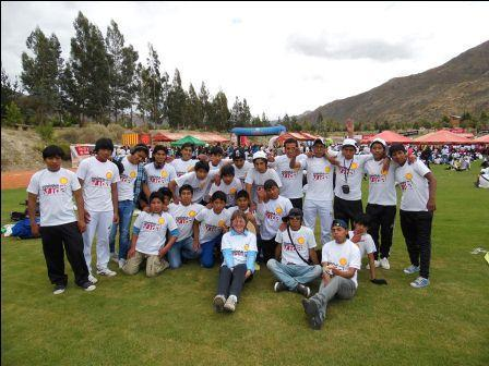 The Mendez boys walked 14 km. to help raise funds for children with cancer.