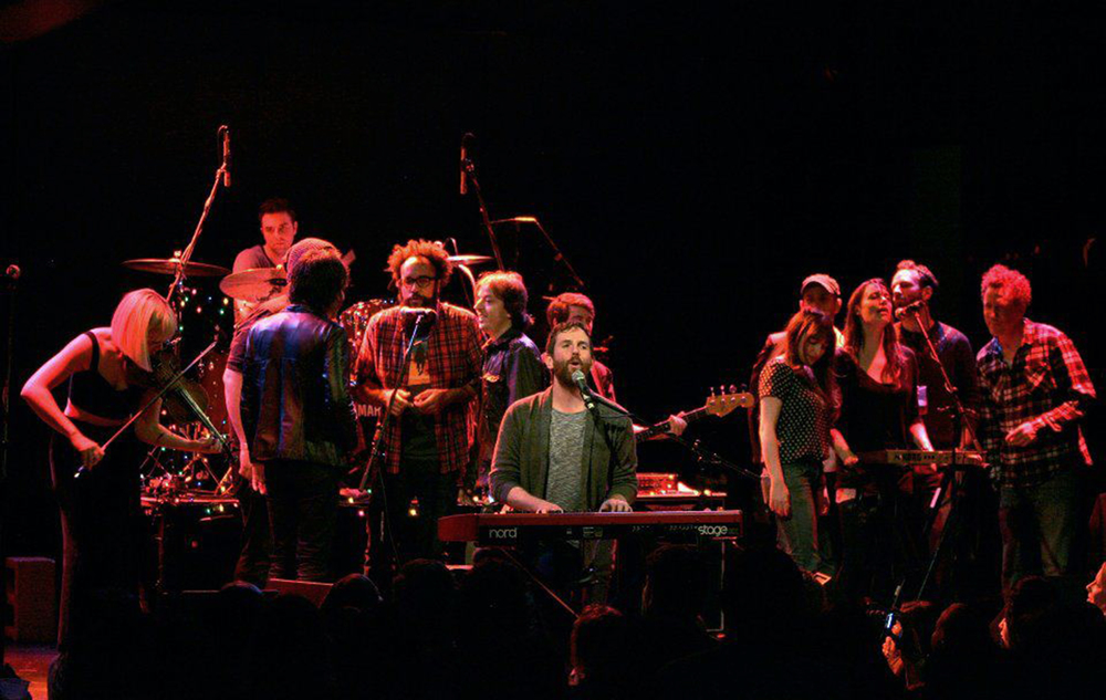 Family Records Revue night at the Bowery Ballroom.