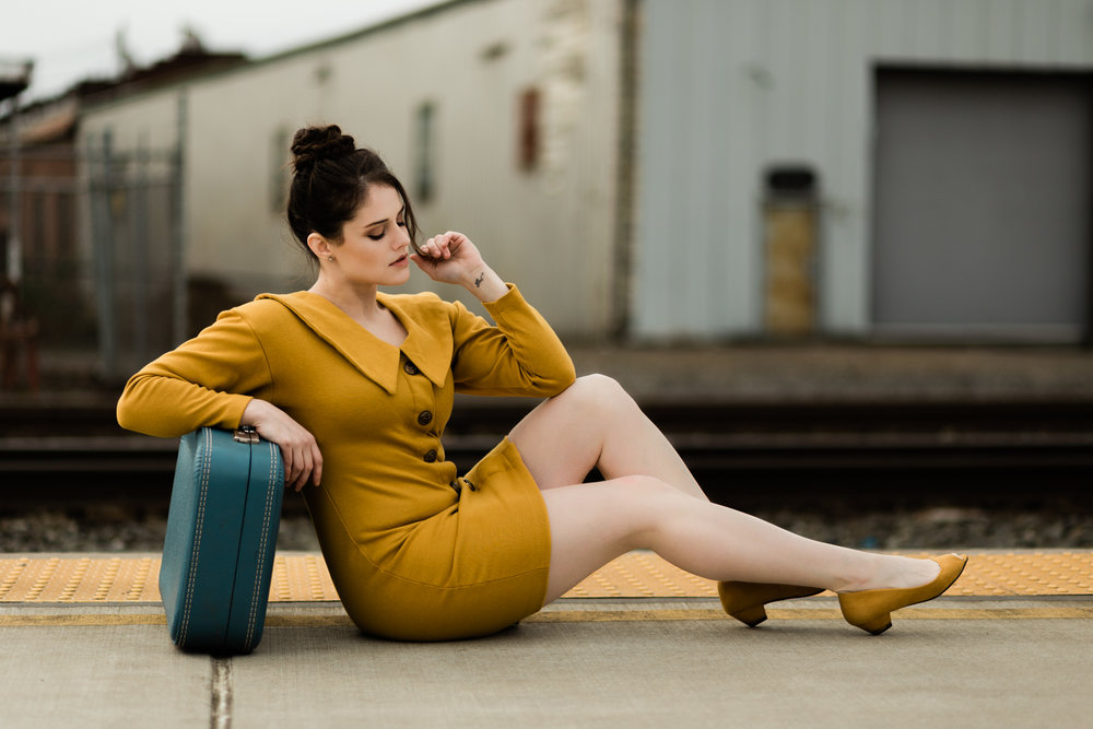Vintage Travel Inspired Photoshoot