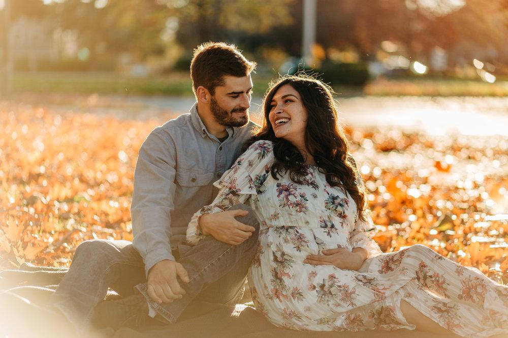 Miranda & Austin - Vancouver WA Fall Maternity - 05.jpg
