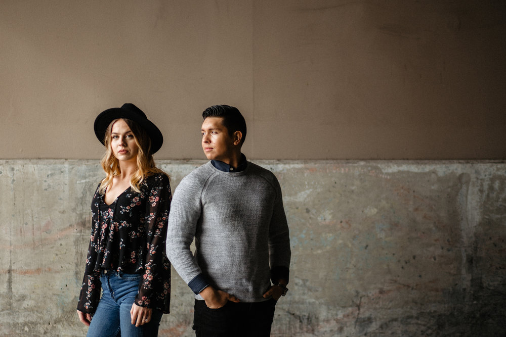 Downtown Urban Couple Session -  Malina Rose Photography_.jpg