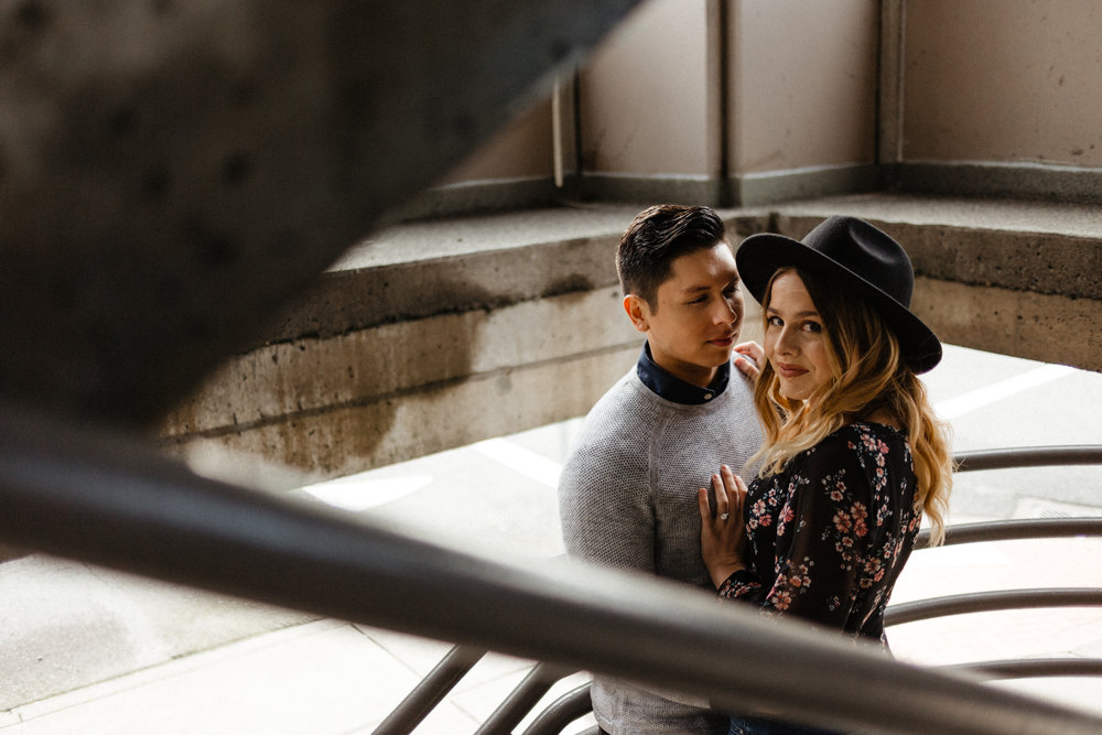 Downtown Urban Couple Session -  Malina Rose Photography_-3.jpg