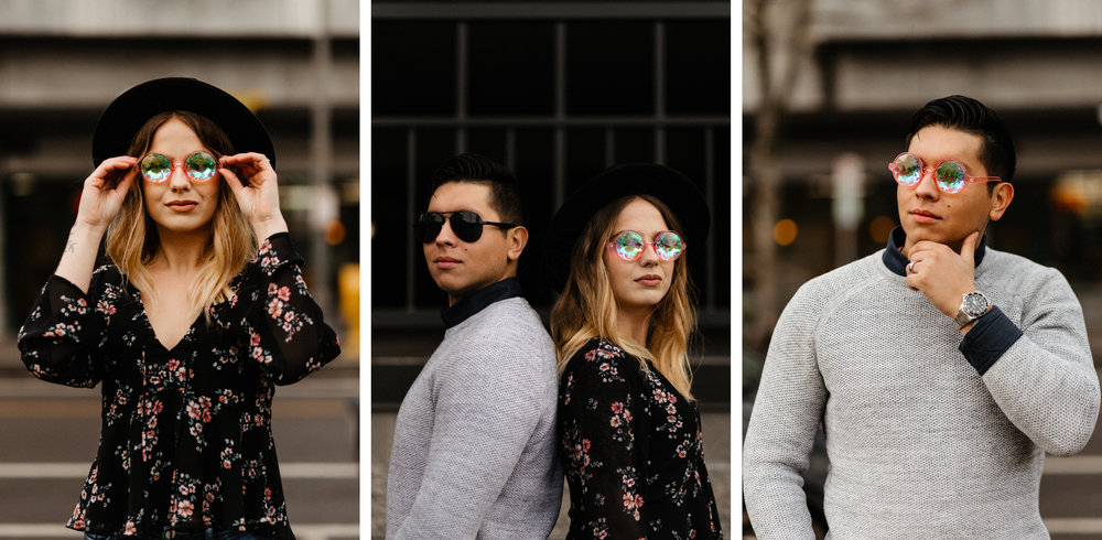 Downtown Urban Couple Session - Malina Rose Photography - T1.jpg