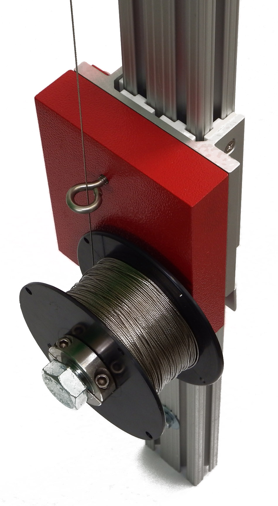 600' (183 m) of specialty wire provides strength with minimal thermal expansion