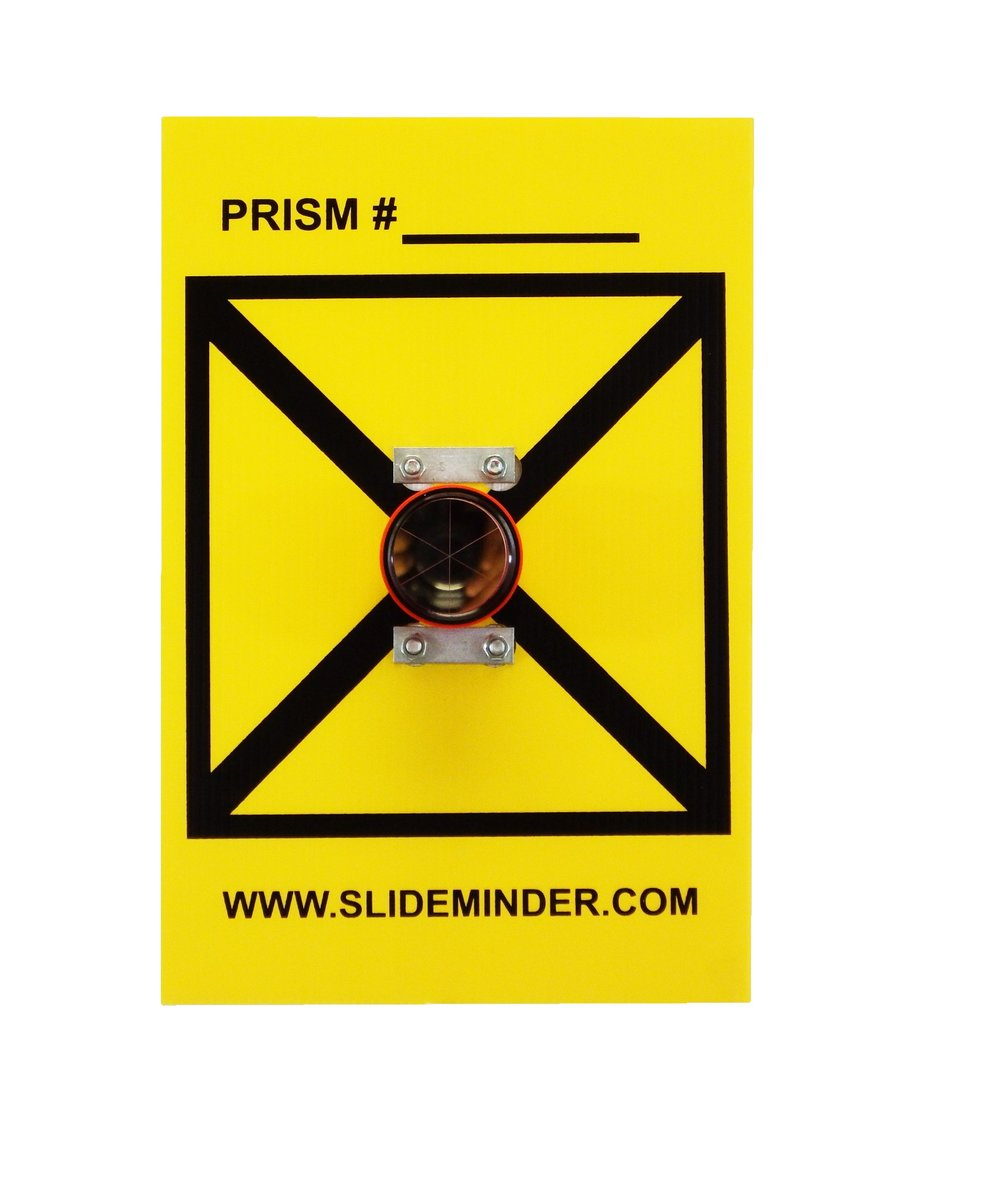 Copper Coated Nitrogen Filled Survey Prism Set