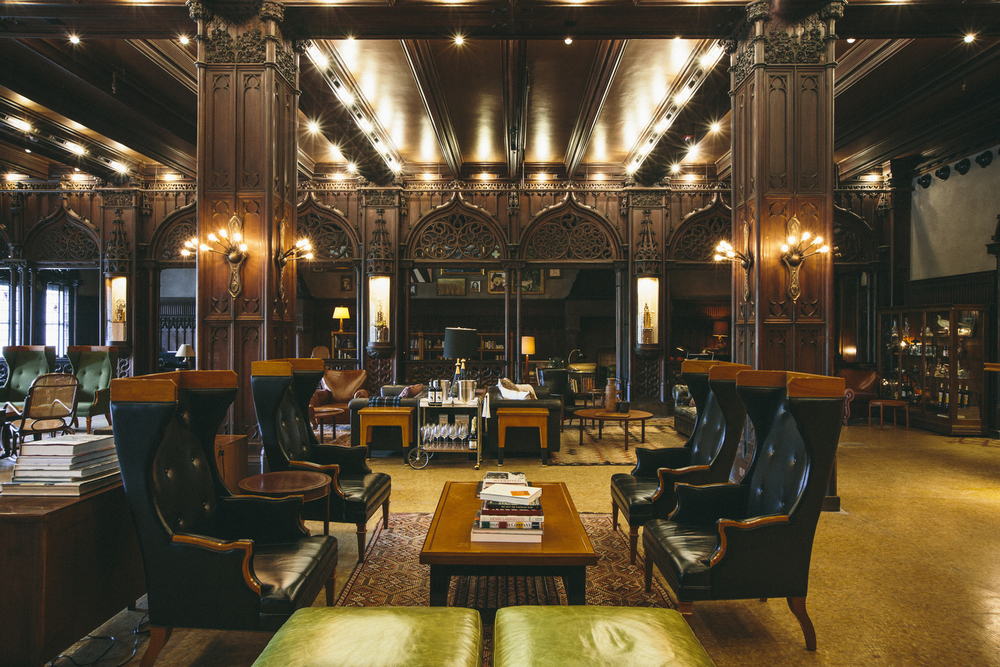 Drawing Room Chicago — Land And Sea Dept at Chicago Athletic Association