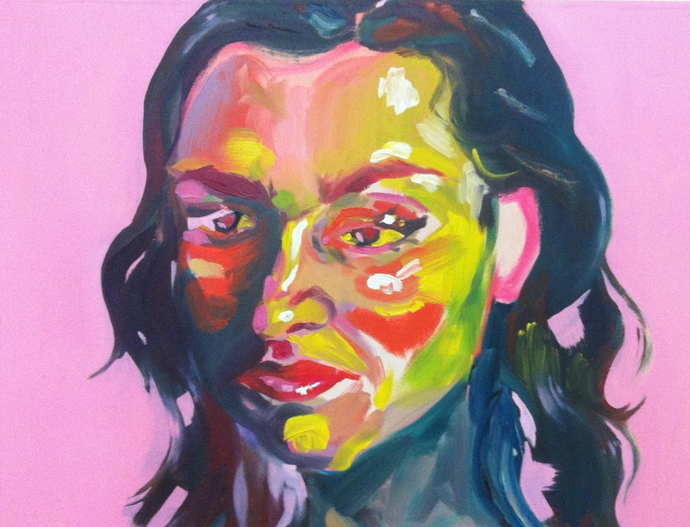 Camille. Oil on canvas, 2013.