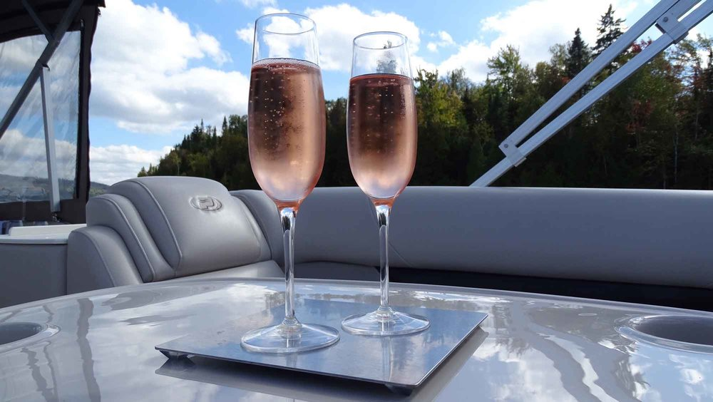 Anti-Spill Wine Glasses for boats, sailboats, pontoons, picnic sets