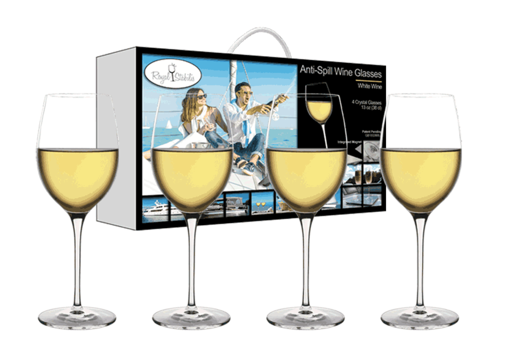 Copy of White Wine Glasses (13oz)