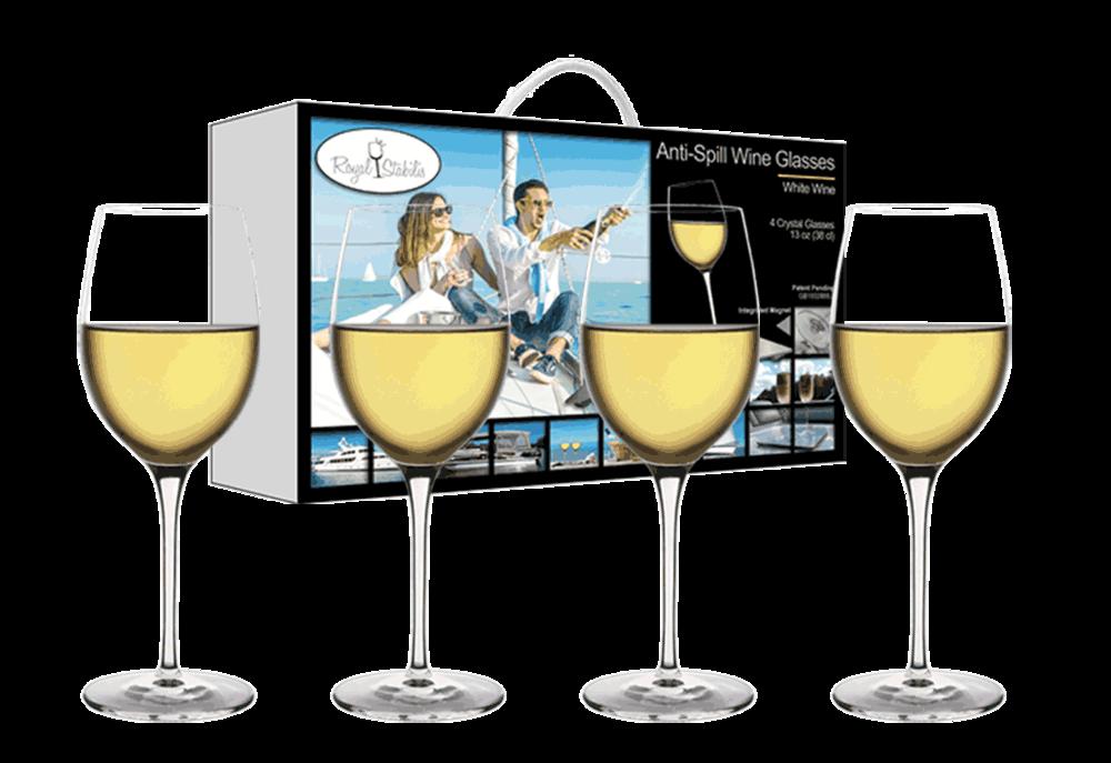 White Wine Glasses (13oz)