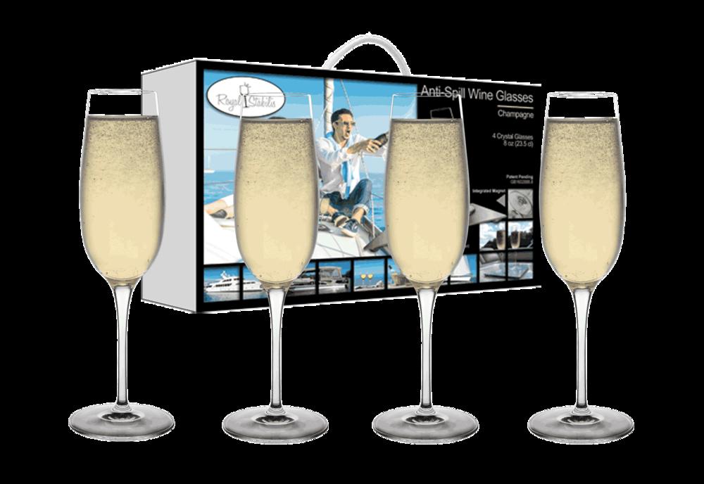 Champagne Glasses (8 oz)