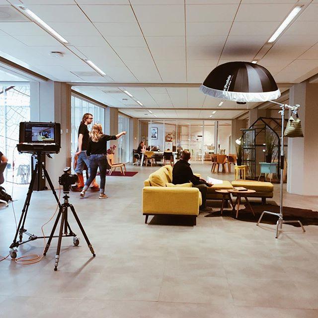 Vandaag fotografeerde ik voor @superlatief in het Groothandelsgebouw in Rotterdam