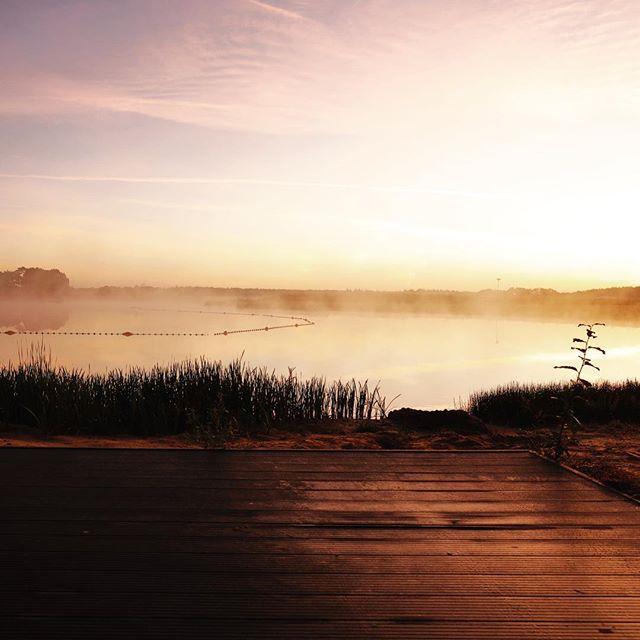 Wakker worden met dit uitzicht... 😍 #zonsopkomst #sunrise #rcnvakantieparken #deflaasbloem #chaam