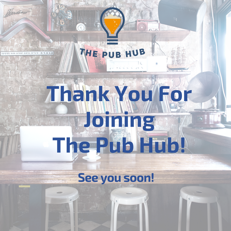 thank you from The Pub Hub