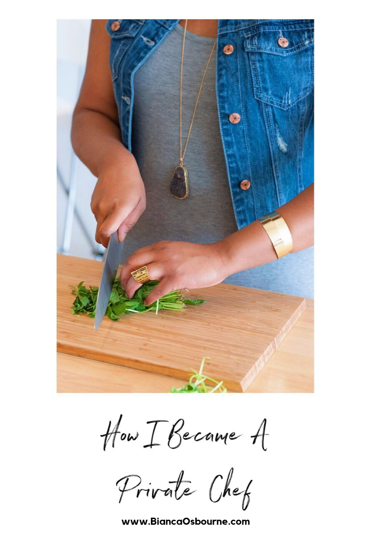Toronto Food and Lifestyle Blogger - How I Became A Private Chef