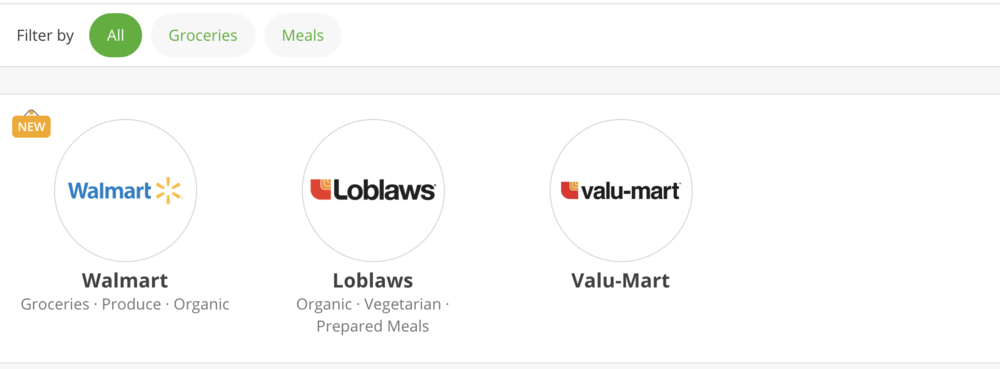 Online Grocery Shopping with Instacart