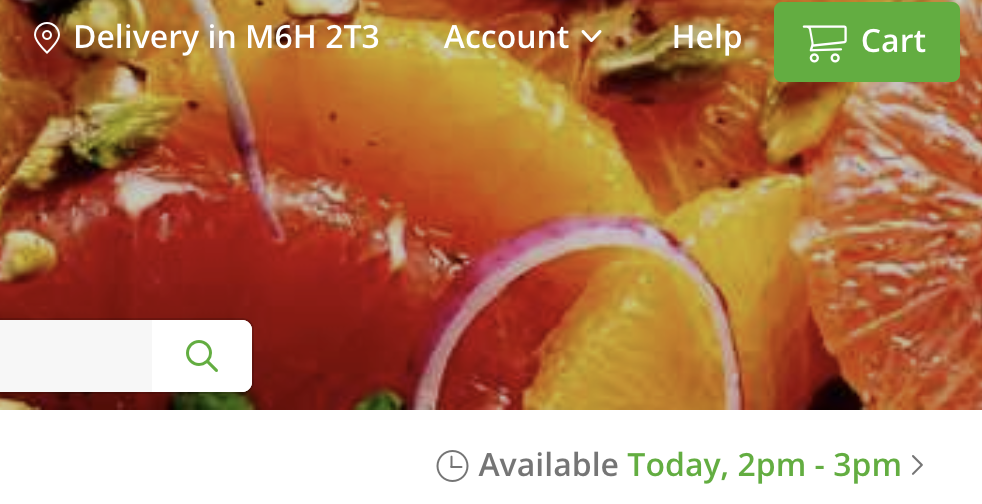 online grocery shopping instacart