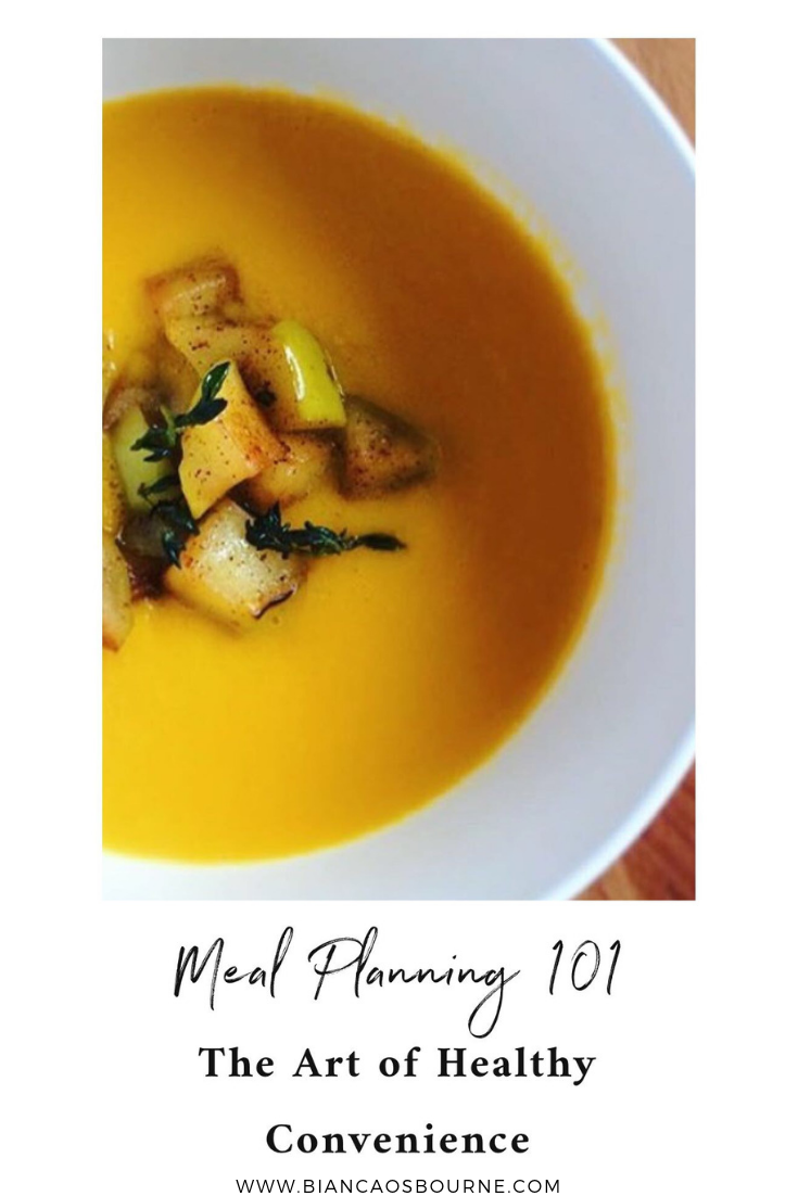 meal planning healthy convenience food