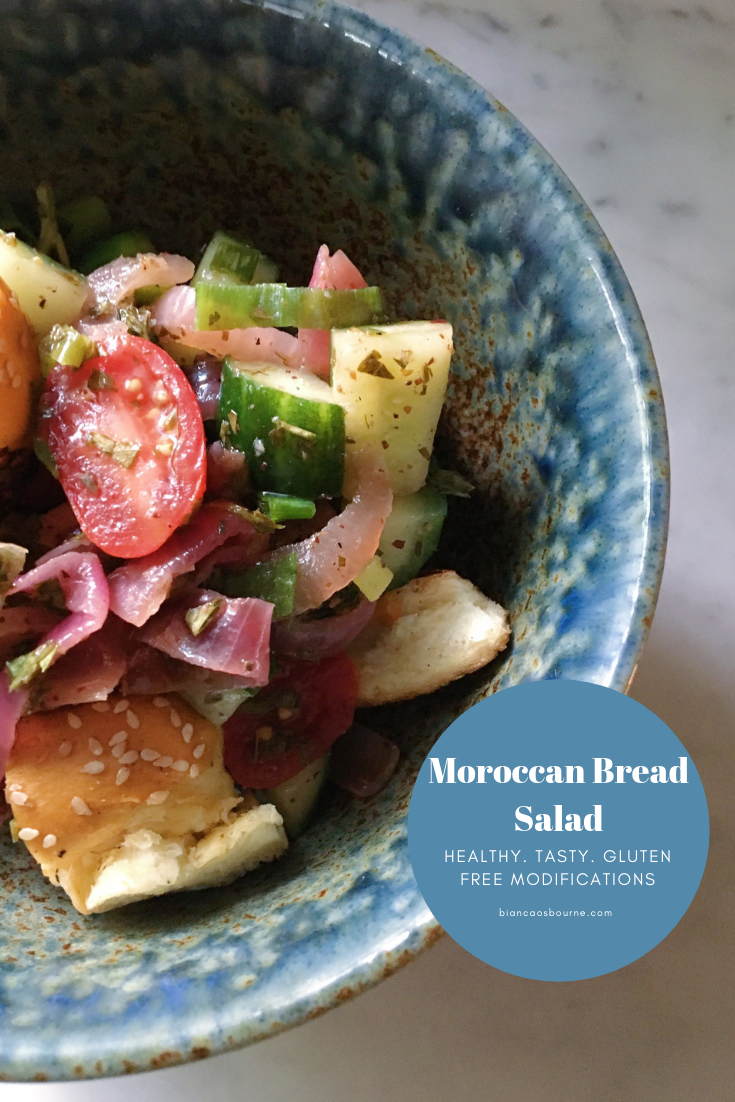 moroccan bread salad: Personal Chef, Meal Prep Expert and Toronto Blogger