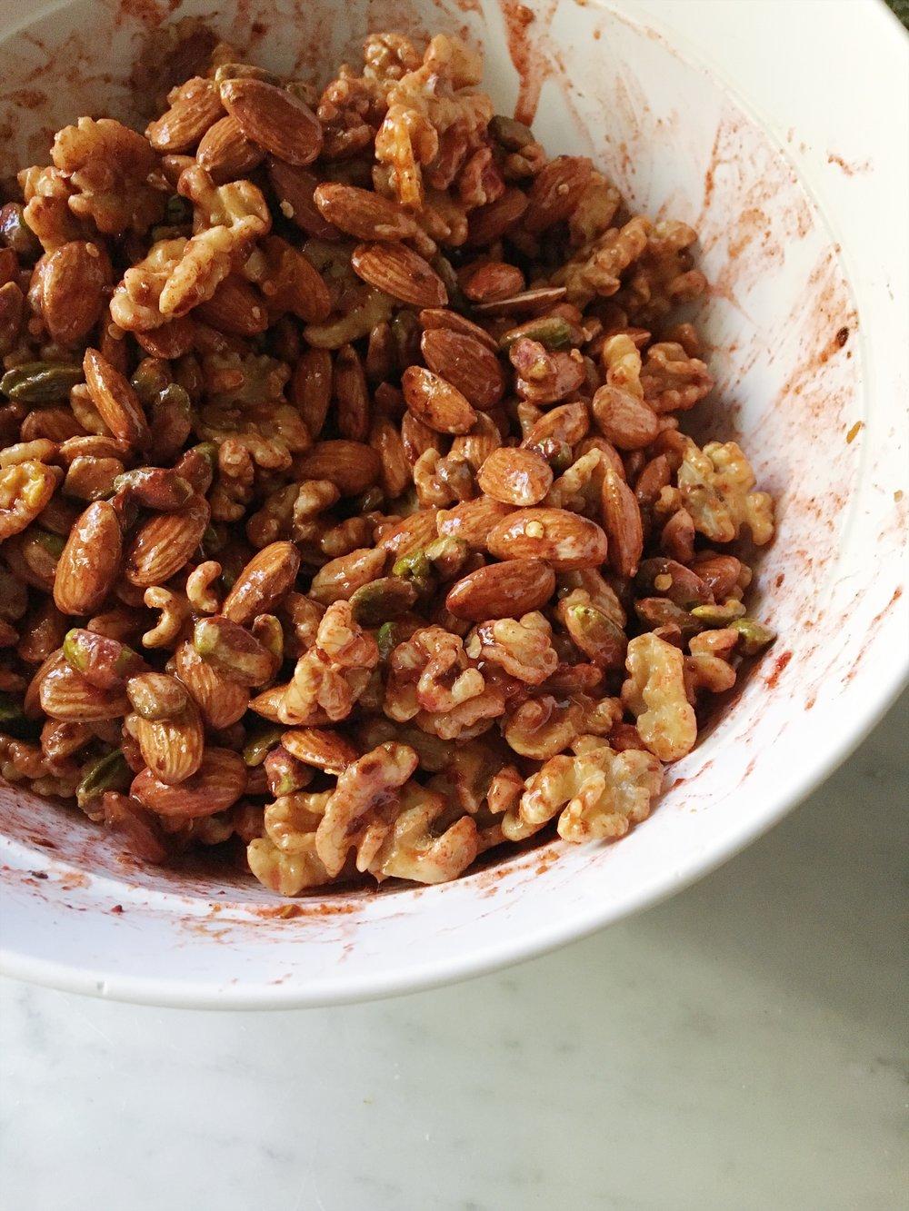 MEAL PREP SNACK RECIPE: Tandoori Spiced Nuts