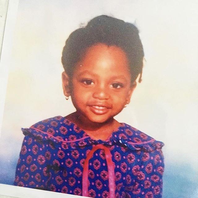 Haven't shut up since...also, I loved this dress #tbt • • • • • • #throwbackthursday #throwback #melanin #melaninmagic #melaninpoppin #blackgirlmagic #cute #melaninbaby