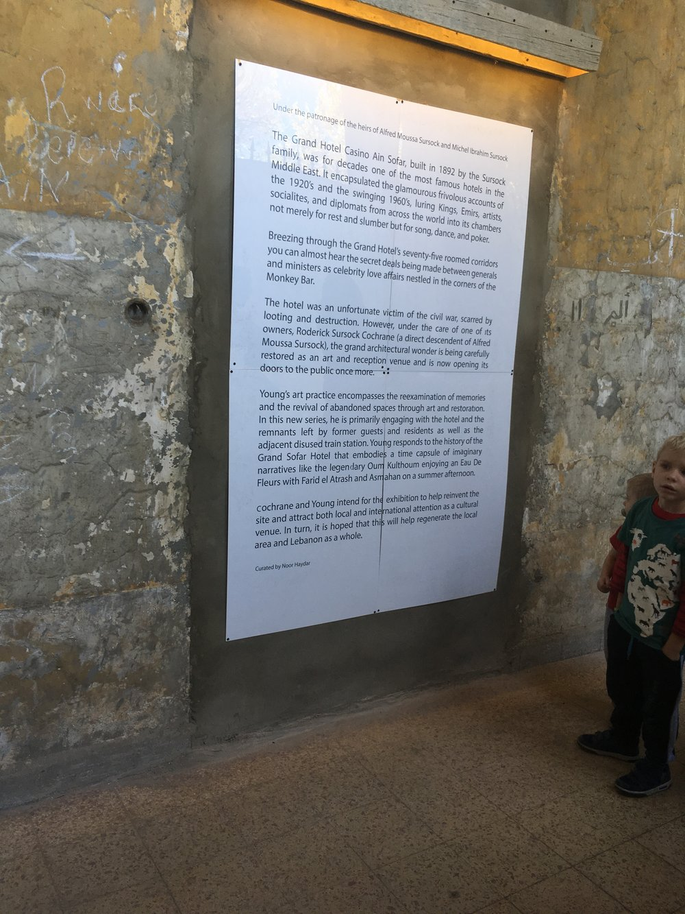 Lebanon 2018 - Part 2 — Sammy and Natasha's Adventures