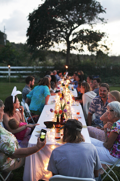 Garden Lawn - Set within our garden, this venue is perfect for hosting Farm-To-Table dinners and other similar