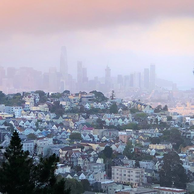 I live on this hill #hillstreet #sf