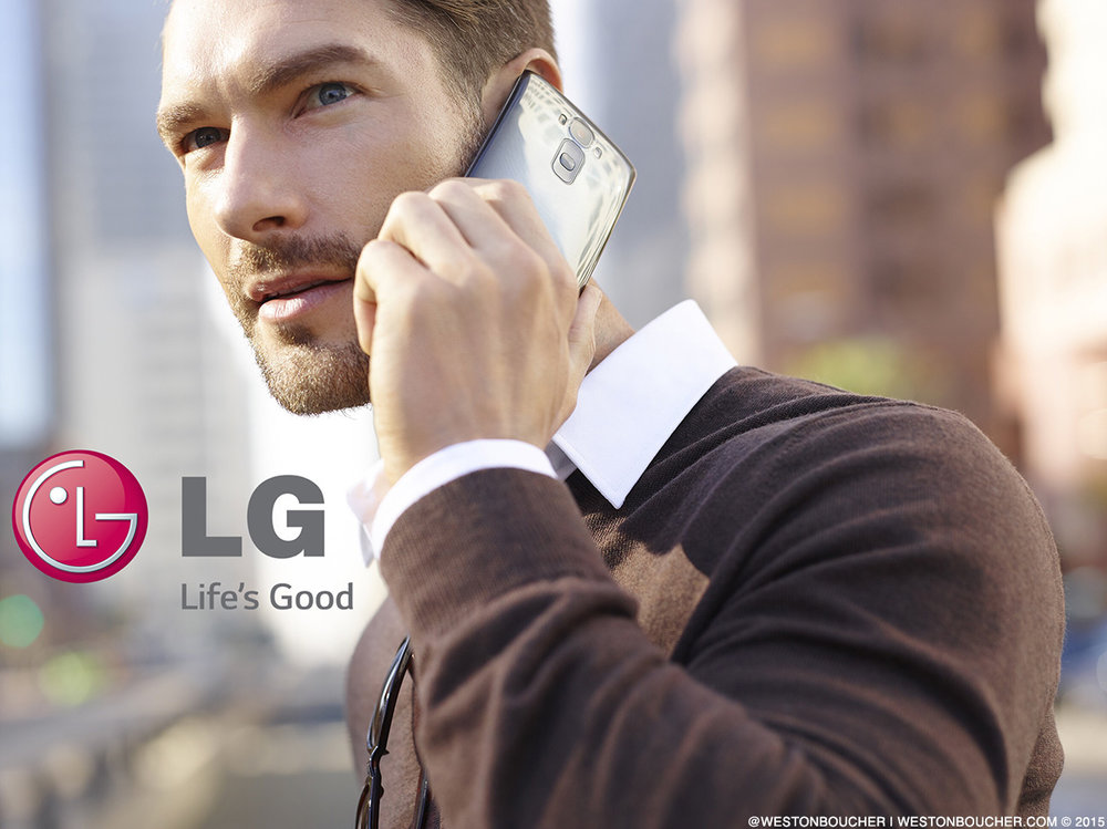 Weston Boucher - For LG Electronics Global Print Campaign