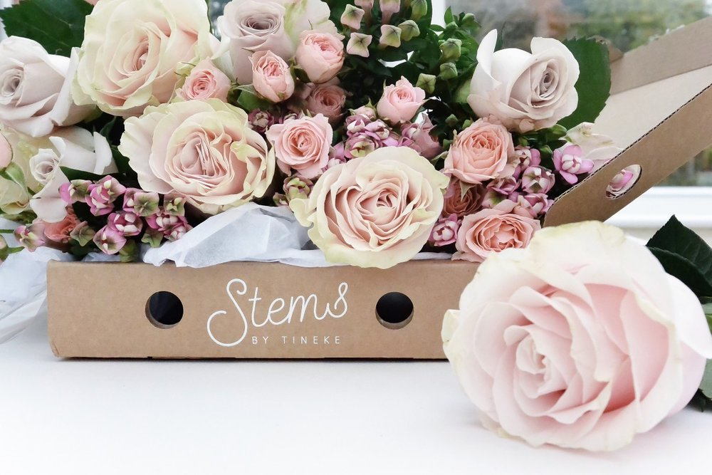 Beautiful fresh flowers delivered through your letterbox