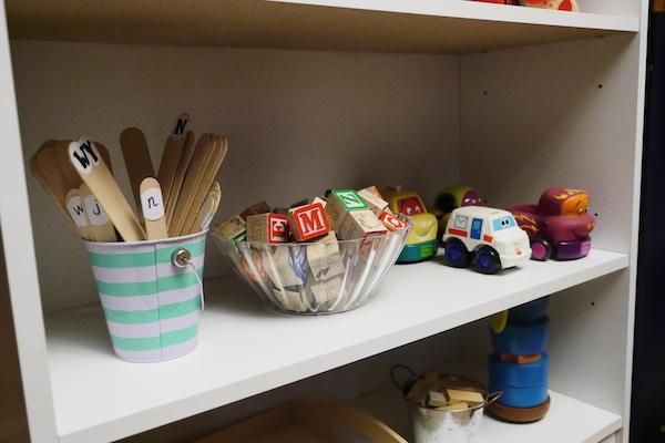 01 shelf three