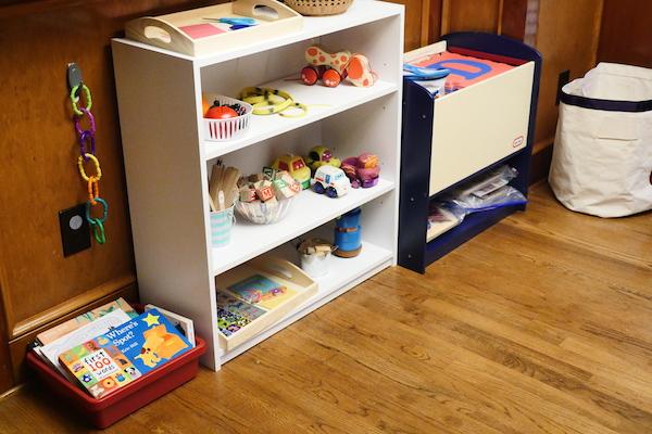 01 shelves setup