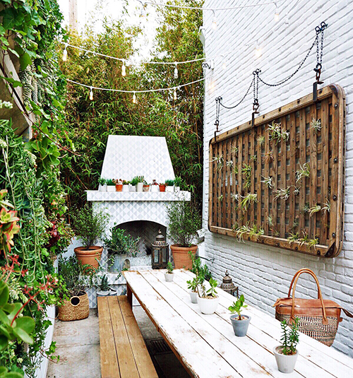 Inquire About Booking Our Back Patio In Venice!
