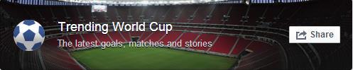 Trending World Cup Facebook