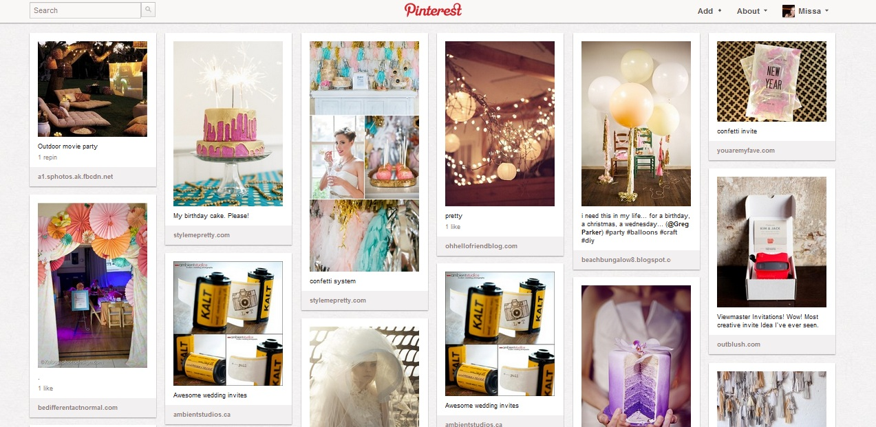 Pinterest_WeddingBoard