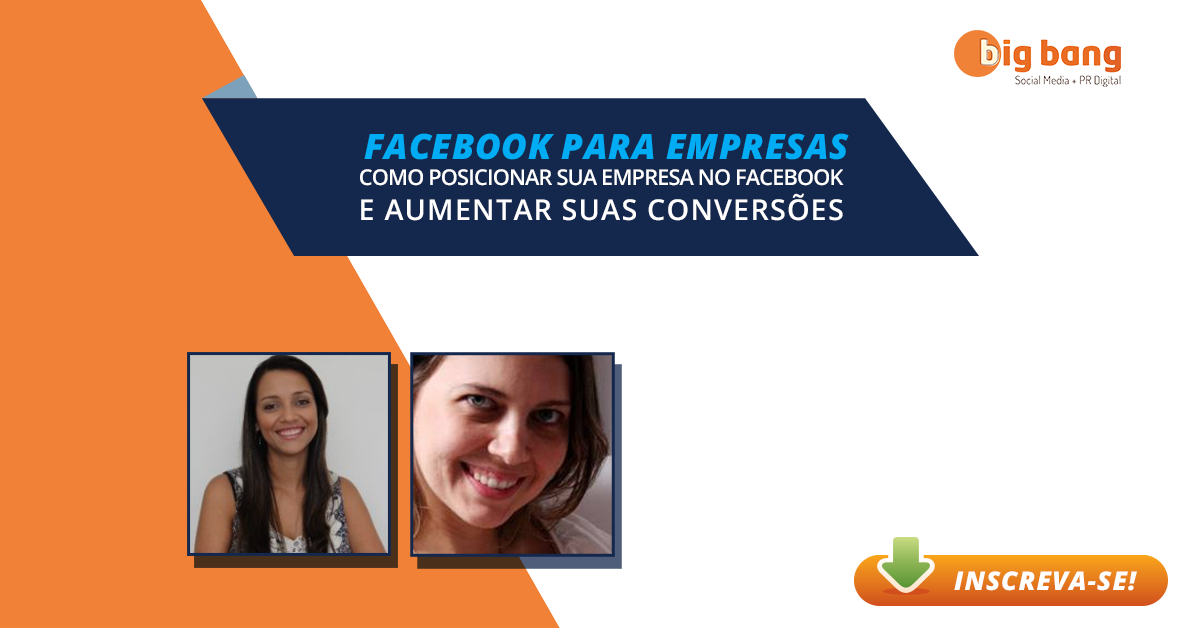 Palestra Gratuita Facebook para Empresas